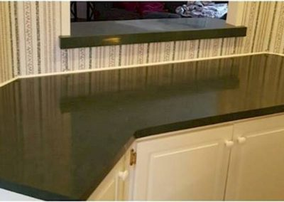 kitchen countertop install